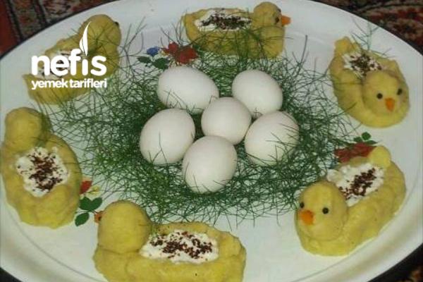 Görünümü Müthiş Papates Salatası Ve Yumurta