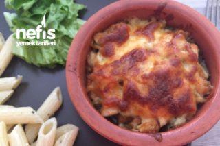 Güveçte Köz Patlıcanlı Kremalı Tavuk Sote Tarifi