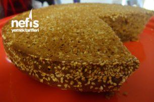 Tahin Pekmezli Çaylı Pamuk Kek (1 Yemek Kaşığı Şekerle) Tarifi