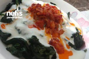 Yoğurtlu Ispanak Yemeği (Muhteşem lezzet) Tarifi