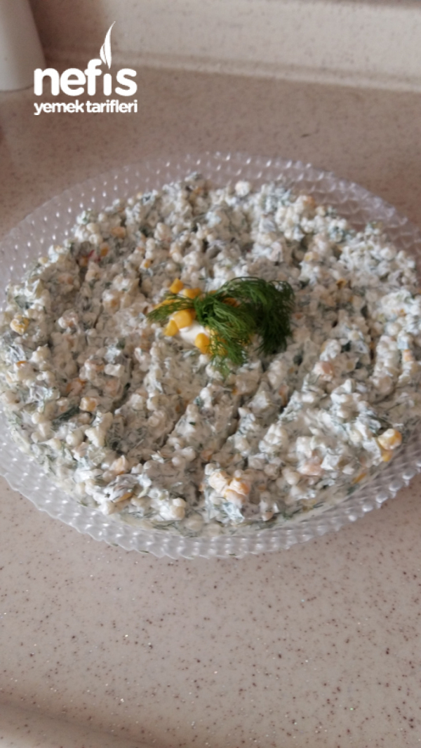 Yoğurtlu Kuskus Salatası