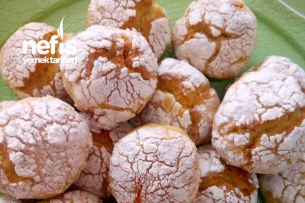 Çatlak Kurabiye (Portakallı) Tarifi