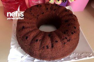 Damla Çikolatalı Pudingli Pamuk Kek (Kabardıkça Kabaran Kek) Tarifi