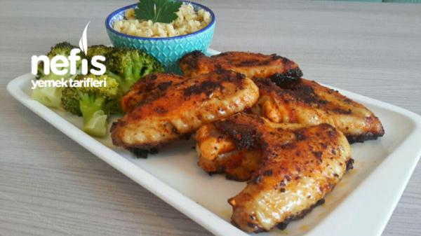Mangal Tadinda Tavada Tavuk Kanat (harika Sosu İle)