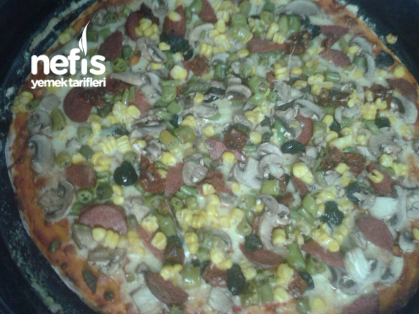 Muhteşem Pizza:-):-)
