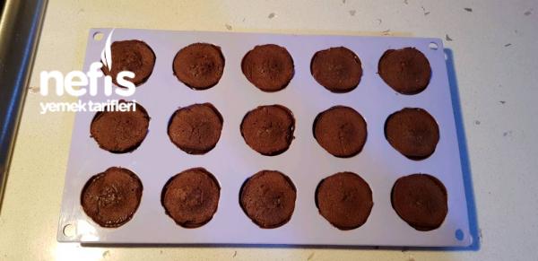 Çikolatalı Gül Kekler (Şirin Kekler )