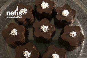 Çiçek Çikolata Pasta (Görünümü Ve Lezzeti Muhteşem) Tarifi