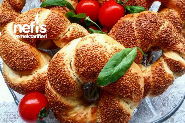 Dev Gibi Kabaran Tava Simidi (Kahvaltıya) Tarifi