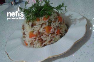 Garnitürlü Mis Gibi Pirinç Pilavım Tarifi