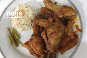 Tavuk Patates  (Lezzet Diyarı) Tarifi