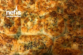Hazır Yufkadan Ispanaklı Gül Böreği (lezzeti Garanti) Tarifi