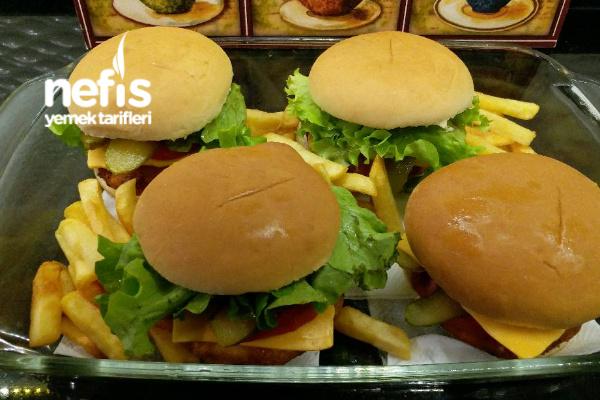 Orjinal Tavuk Burger (Hazırları Aratmayacak Tarifim)
