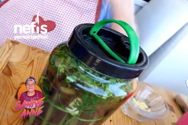 Patlıcan Turşusu (videolu) Tarifi
