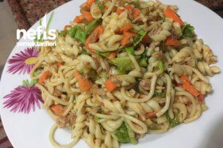 Ton Balıklı Makarnalı Salata Tarifi