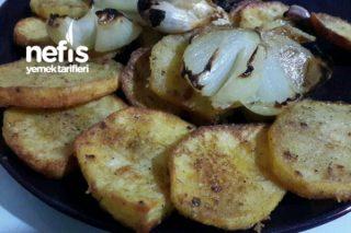 Çıtır Patates Dilimleri (Dışı Çıtır İçi Yumuşak) Tarifi