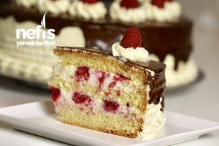 Frambuazlı Pasta (videolu) Tarifi