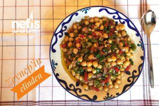 Kimyonlu Nohut Salatası Tarifi