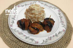 Patatesli Patlıcan Sarması Tarifi