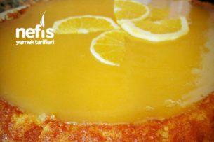 Portakalı Tart Kek Tarifi
