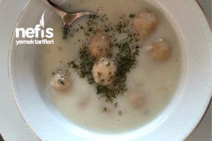 Bulgur Köfteli Süt Çorbası Tarifi