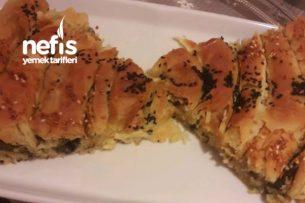 Ispanaklı Kol Böreği (El Açması) Tarifi