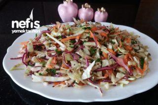 Beyaz Lahanalı Kış Salatası Tarifi