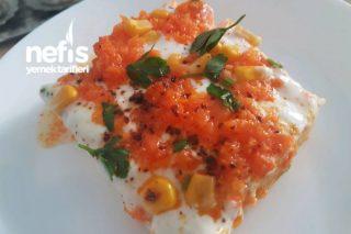 Pasta Görünümlü Yoğurtlu Patates Salatası Tarifi