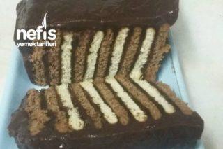 Şekli Şahane Bisküvili Pastam Tarifi