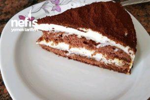 Tiramisu (Hazır Pasta Taban İle) Tarifi