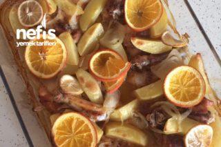 Fırında Portakallı Tavuk Tarifi