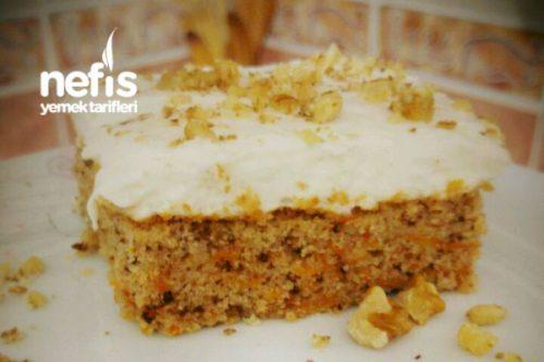 Kremalı Havuçlu Kek Yapılışı Videosu