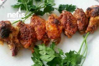 Leziz Sosuyla Fırında Tavuk Kanat Tarifi