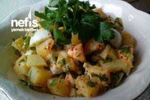 Patatesli ve Yumurtalı Salata Tarifi