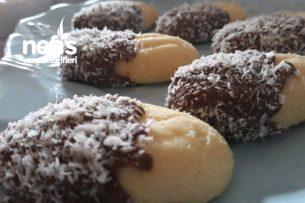 Çikolata Kaplı Un Kurabiyesi Tarifi