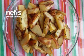 Elma Dilim Fırında Patates Tarifi