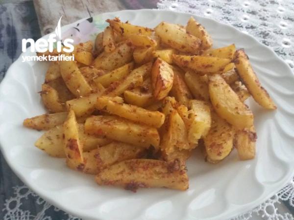 Et Ve Tavuk Yemeklerinin Yol Arkadaşı Elma Dilim Frın Patates
