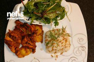 Fırında Nefis Kremalı Tavuk Tarifi