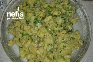 Hardal Soslu Patetes Salatası Tarifi