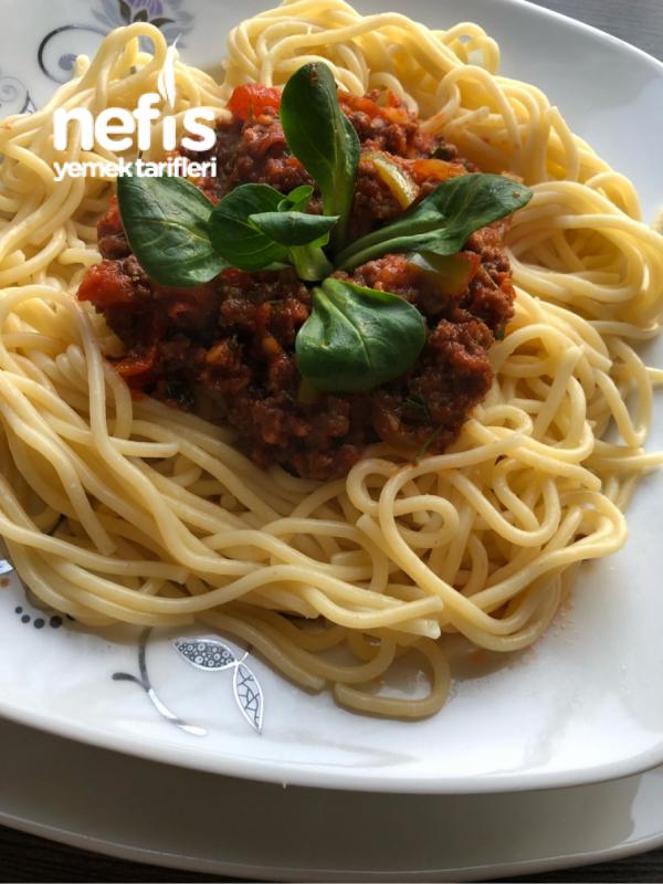Süper Soslu Spaghetti