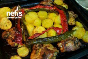 Fırında Tavuk Ve Patates Tarifi