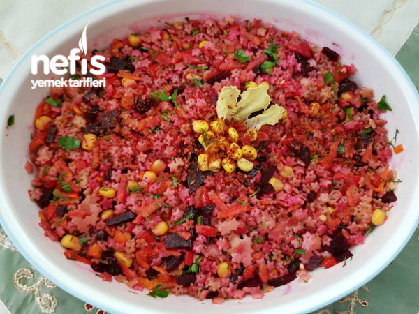 Gökkuşağı Salatası