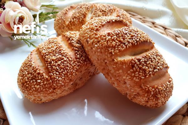 Sütlü Simit Poğaça (Pastane Usulü)