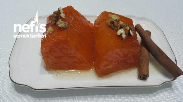 Cam Balkabağı Tatlısı ( Osmanlı Mutfağından )