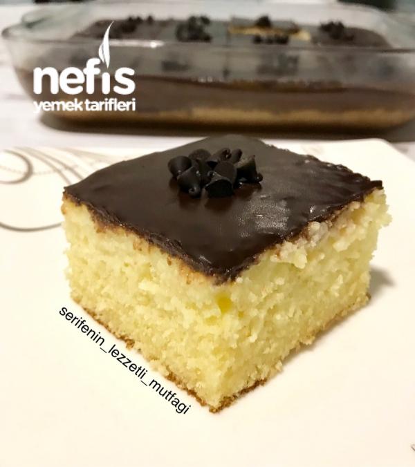 Çikolatalı Muzlu Islak Kek (pasta Tadinda)