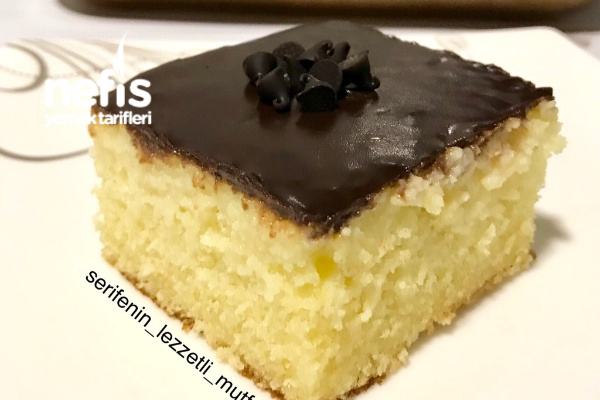 Çikolatalı Muzlu Islak Kek (Pasta Tadında)