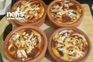 Güveçte yada Borcamda Pizza Nasıl Yapılır? (Hamursuz Unsuz)