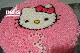 Hello Kittyli Pastamız Tarifi