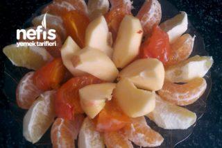 Kış Meyve Tabağı Tarifi