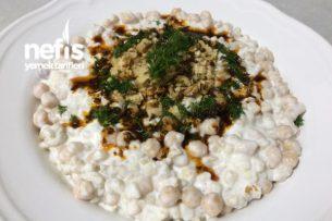 Nefis Nohutlu Buğday Salatası Tarifi