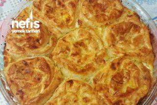 Sodalı Peynirli Puf Börek (Garanti Lezzet) Tarifi
